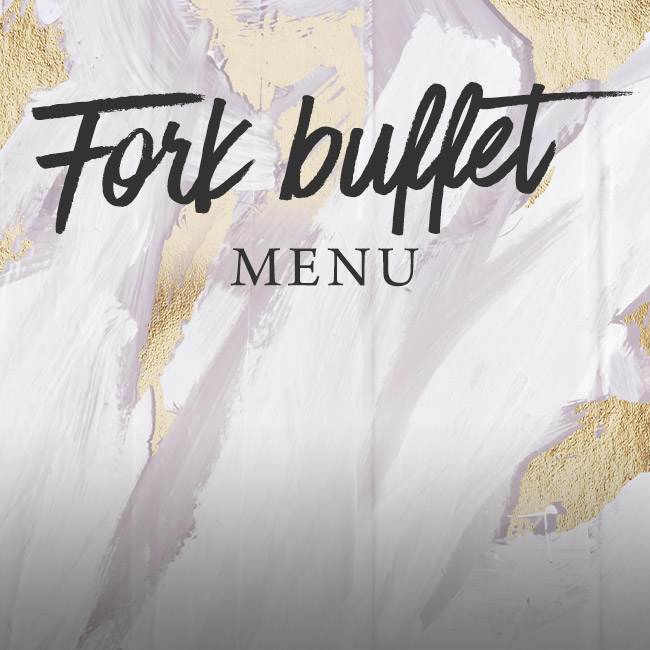 Fork buffet menu at The Inn On The Lake