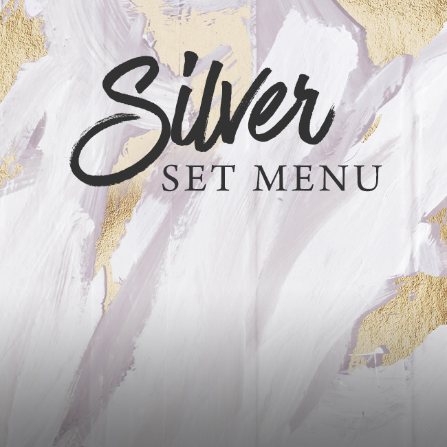 Silver set menu at The Inn On The Lake